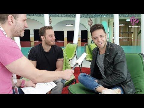 Luca Hänni learning Hebrew - She Got Me - Switzerland 🇨🇭- Eurovision 2019