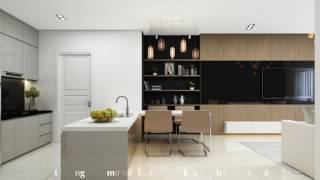 Mẫu thiết kế nội thất chung cư Sunrise City 78m2 - Quận 7