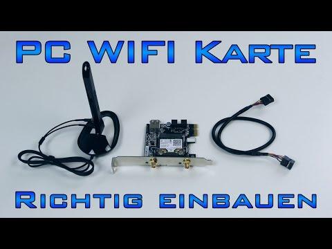 PC - WLan/Bluetooth Karte richtig einbauen
