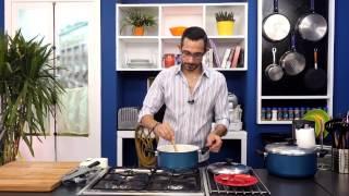 دجاج بالكارى+ ارز بالكارى وجوز الهند مع هانى عبدالناصر في سوبر هاتريك(الجزء الاول)