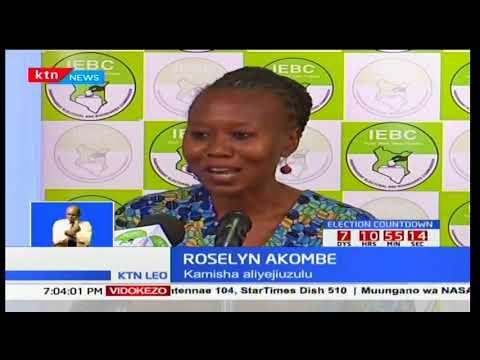 Masaibu ya Roselyne Akombe akiwa kamishna wa IEBC