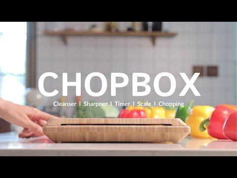 ChopBox: Smart Cutting Board-GadgetAny