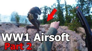 INTENSE WW1 Airsoft Trench War PART 2!