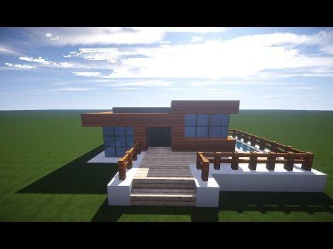 Minecraft Moderne Villa Tutorial Deutsch - Minecraft haus bauen tutorial deutsch