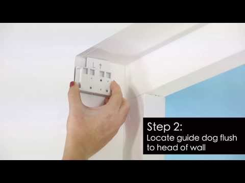 How to Install - Premium Roller Blind - Recess Fitting