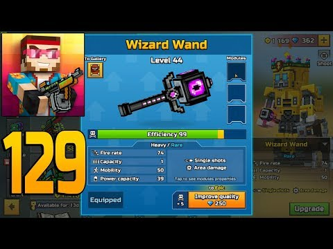 Pixel Gun 3D - Gameplay Walkthrough Part 129 - Wizard Wand