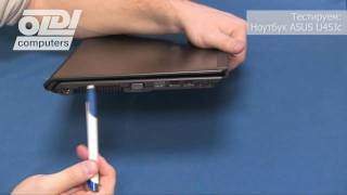 Обзор ноутбука ASUS U45Jc