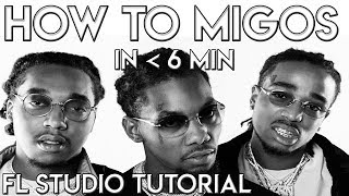 How To Migos In Under 6 Mins | FL Studio Tutorial Migos Type Beat And Rap