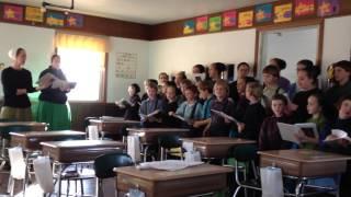 Amish School - Kids Singing