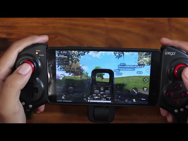 Review iPega 9023 Gamepad Setup and Gaming serasa kayak psp #mobile legends #pubg #free fire #ros
