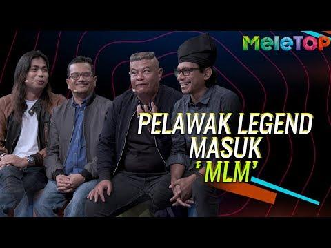 Layan! Pelawak Legend Masuk Maharaja Lawak Mega  | MeleTOP | Nabil &  Neelofa