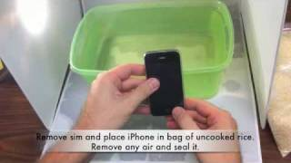 iPhone water damage - steps to take if it happens to you