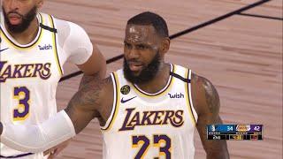 Los Angeles Lakers Vs Dallas Mavericks - Scrimmage - 1st Half Highlights | NBA Restart