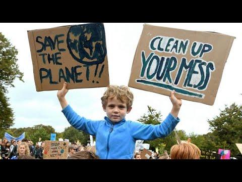 Δυναμικές κινητοποιήσεις κατά της κλιματικής αλλαγής