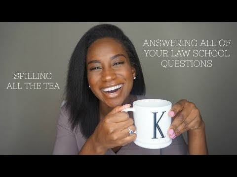 My 20 Most Asked Law School Questions! | THE LEGAL TEA