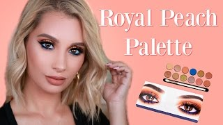 Kylie Cosmetics Royal Peach Palette Tutorial  Nicol Concilio
