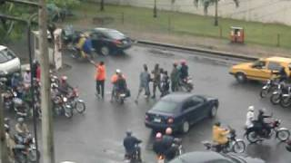 preview picture of video 'Lagos Traffic Fight'