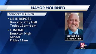 Mayor to lie in state in Brockton