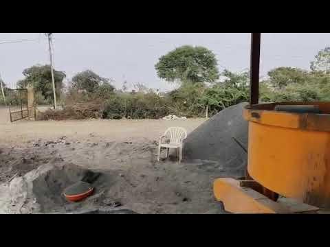 4 Stroke Semi Automatic Fly Ash Bricks Making Machine
