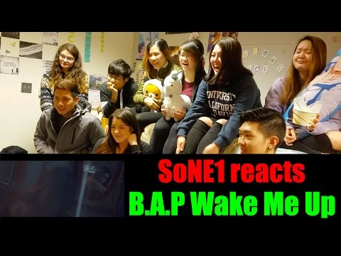 B.A.P - Wake Me Up M/V Reaction by SoNE1