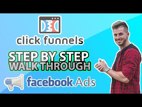 How to setup Click funnels with Facebook Ads! (Click Funnels, Active Campaign, Facebook Ads)