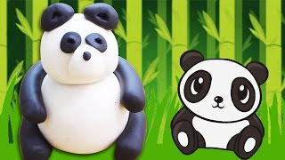 Play Doh | How To Make Play Doh Panda