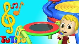Songs & Karaoke for Children | Trampoline | TuTiTu Songs