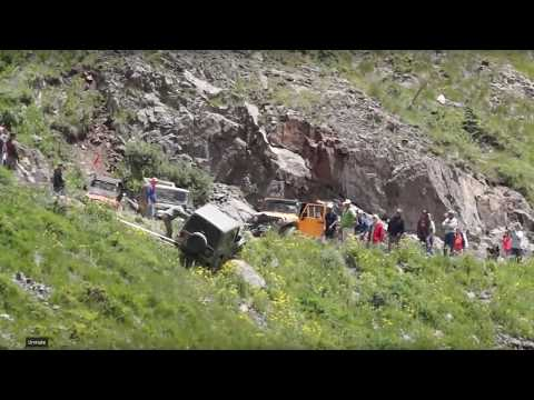 Couple Drives Off  Cliff At Animas Forks Colorado: Jeep Fail