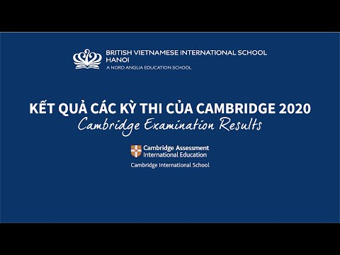 IGCSE & A-Level Examination Results 2019 - 2020