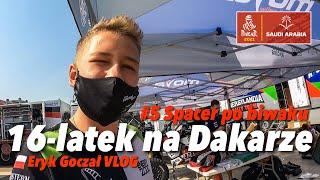 16-latek na Dakarze - Eryk Goczał Vlog | Dakar Rally 2021 odcinek 5