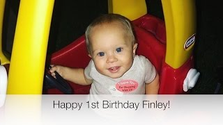 FINLEY'S FIRST BIRTHDAY! - DAILY BUMPS