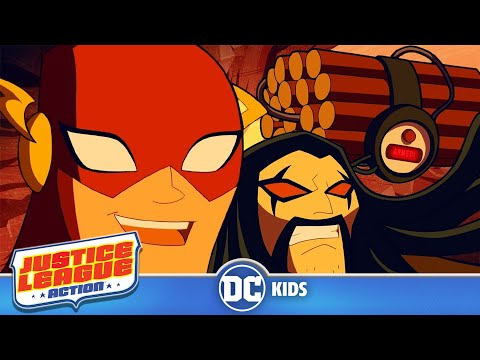 Justice League Action | Beep Beep | DC Kids