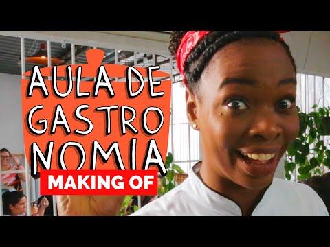 MAKING OF - AULA DE GASTRONOMIA