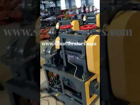 Bar Scrap Straightening Machine