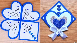 Easy And Beautiful Card For Fathers Day / DIY Fathers Day Cards / Fathers Day Card Ideas