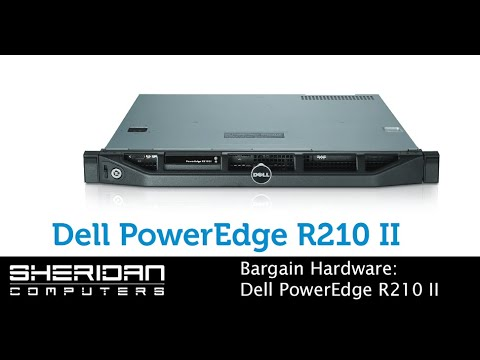 Reconditioned Server Hardware - Dell PowerEdge R210 II
