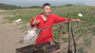 #44【谷阿莫Life】恢復更新,普通人漂流到荒島後有辦法馬上刺魚來吃嗎?