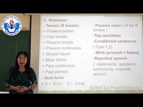 Tiếng Anh 9: Chuyên đề giới thiệu cấu trúc đề thi vào THPT không chuyên - TP Lào Cai