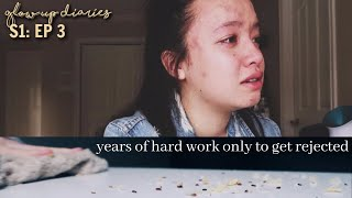 Rejected From My Dream College,  Acne Tips + Food Binge | Glow Up Diaries Episode 3