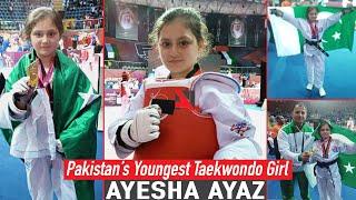 Pakistan's Youngest Taekwondo Star, 9-year-old Ayesha Ayaz From Swat VAlley