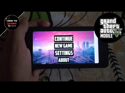 180MB] DOWNLOAD GTA 5 FOR ANDROID || APK + DATA || WORKING