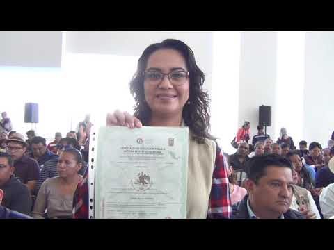 Entrega de Constancias de Certificación de Competencias a Migrantes en Retorno