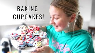 BAKING HALLOWEEN CUPCAKES | Aka Making A Fool Out Of Myself In The Kitchen