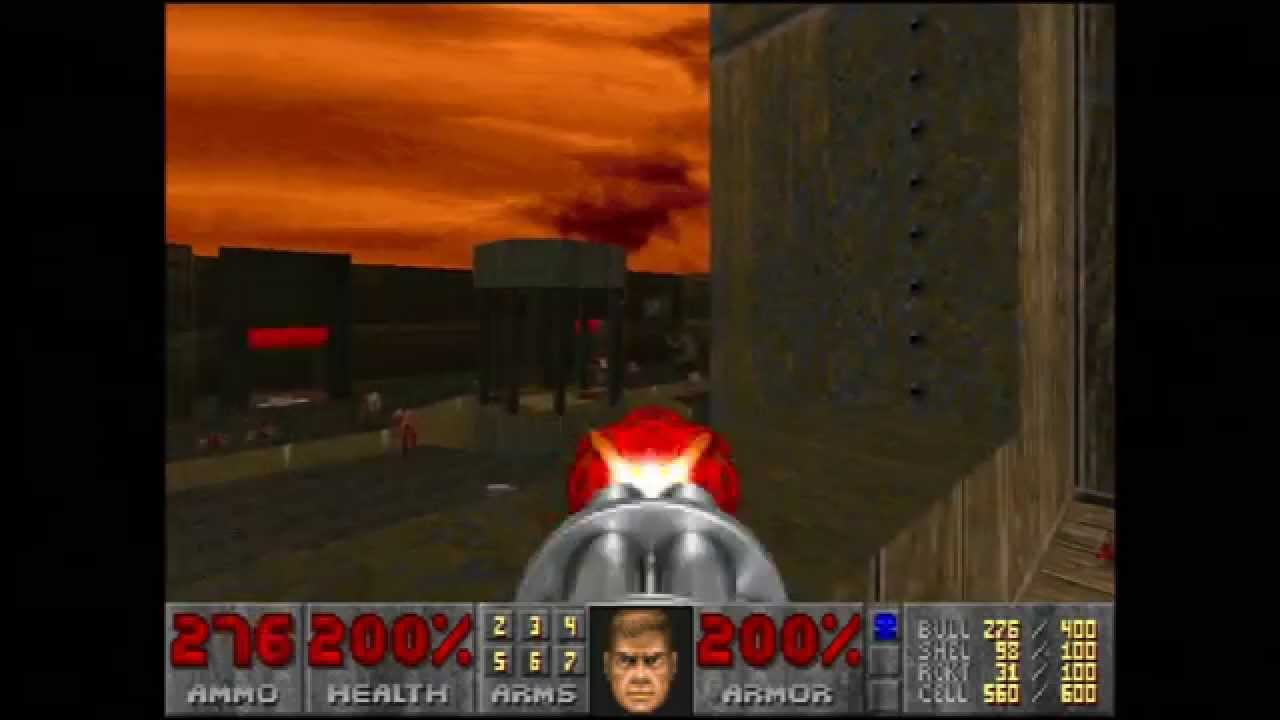 "Doom (E4M7 ""And Hell Followed"") Walkthrough – Ultra-Violence"