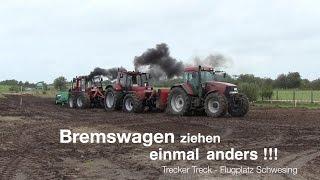 preview picture of video 'Trecker Treck - Bremswagen ziehen - Flugplatz Schwesing 2014'