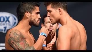 Лучшие бои Брайна Ортеги в UFC