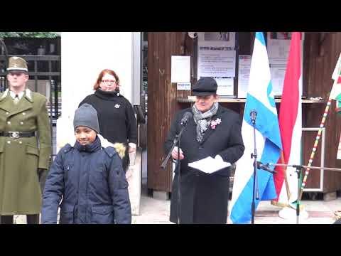 Magyar-Zsidó Szabadságharcosokért Emlékbizottság (Mazsiszem) '48-as emlékünnepsége