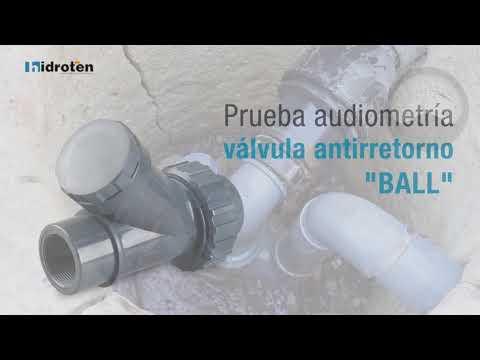 Válvula Antirretorno de bola 'BALL'
