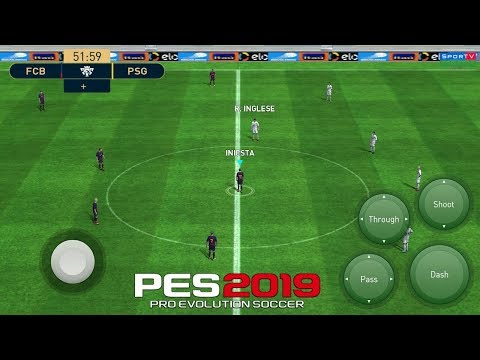 PES 2019 Mobile Patch Android 1 4GB [ All original Logos and