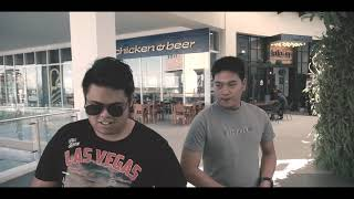 Boss jerome with his homie lexter goes to Merlion's restaurant
